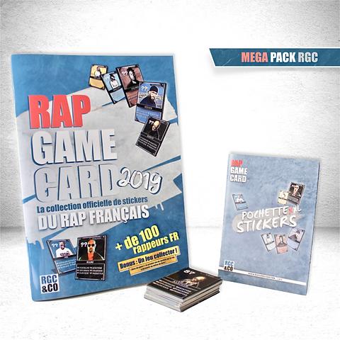 Mega Pack Rap Game Card Livre 30 Stickers Un Jeu De Societe Inedit