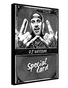 Rap Game Card