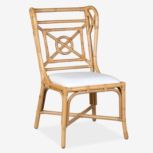 Evan Cane Wingback Chair