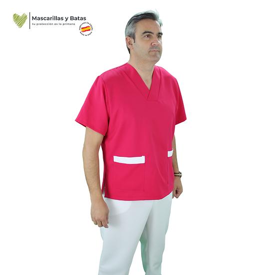 Conjunto Casaca Magenta Hombre + Pantalón - Hidrófugo y Antibacteriano