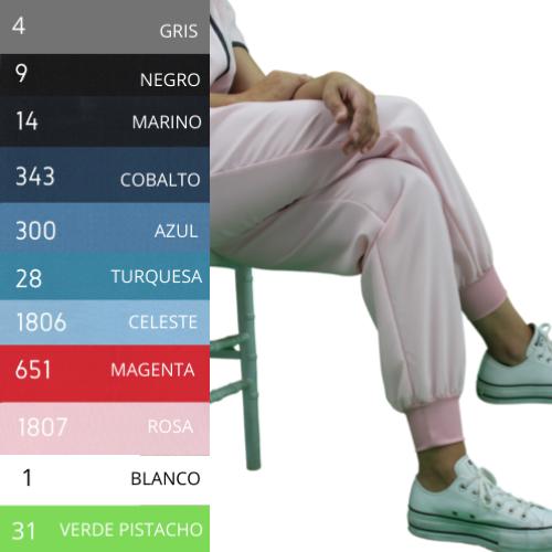 Pantalón Sport-Clinics 21 - Hidrófugo y Antibacteriano - Varios Colores
