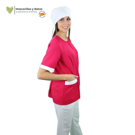 Conjunto Casaca MARGA + Pantalón Blanco - Hidrófugo y Antibacteriano