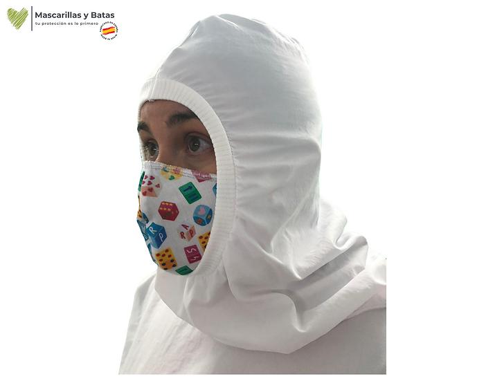 Buzo-Burca Plastificado Lavable Pol Impermeable - 10