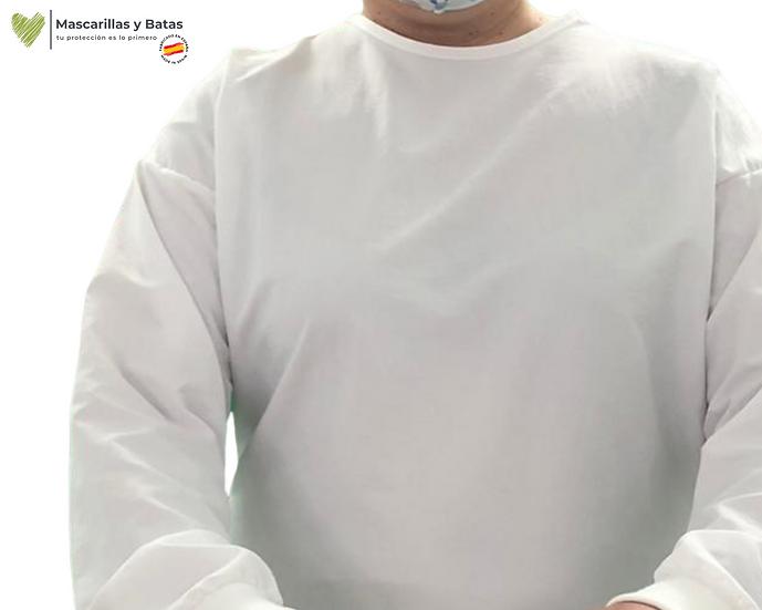 Bata MIDAS Plastificada Lavable Pol Impermeable - 10