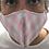 Thumbnail: Mascarilla Textil Lavable - Cuadros Rosa