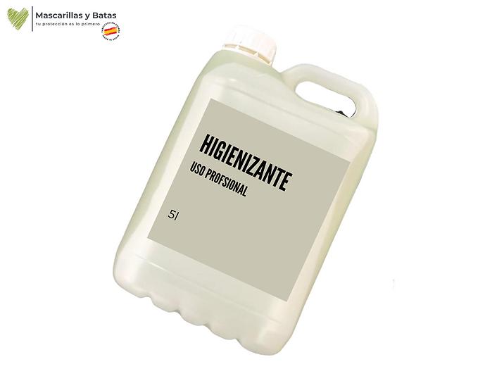 Botella Higienizante 5L