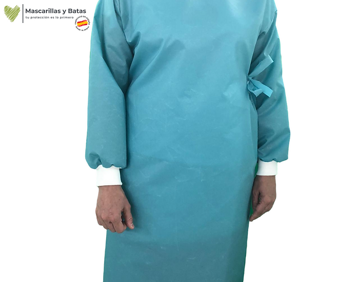 Bata Sanitaria Impermeable - NORMA 13795