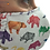 Thumbnail: Mascarilla Textil Lavable - Dinosaurios