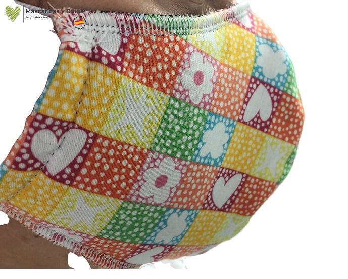Mascarilla Textil Lavable - Ágatha Ruiz de la Prada Corazón
