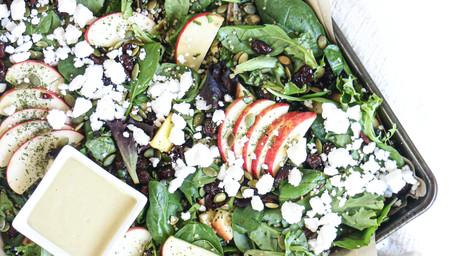 Apple Winter Green Salad
