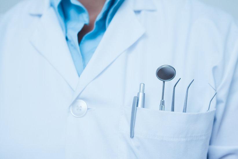 Dental værktøjer i lommen