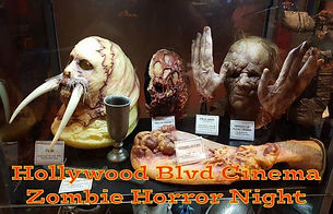 Hollywood Blvd Cinema Zombie Horror Nigh