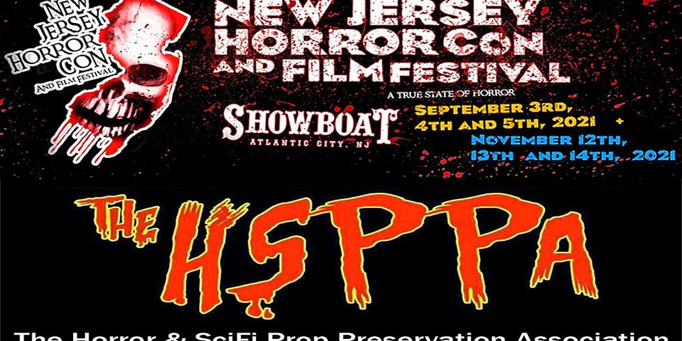 The HSPPA @ NJ Horror Con and Film Festival