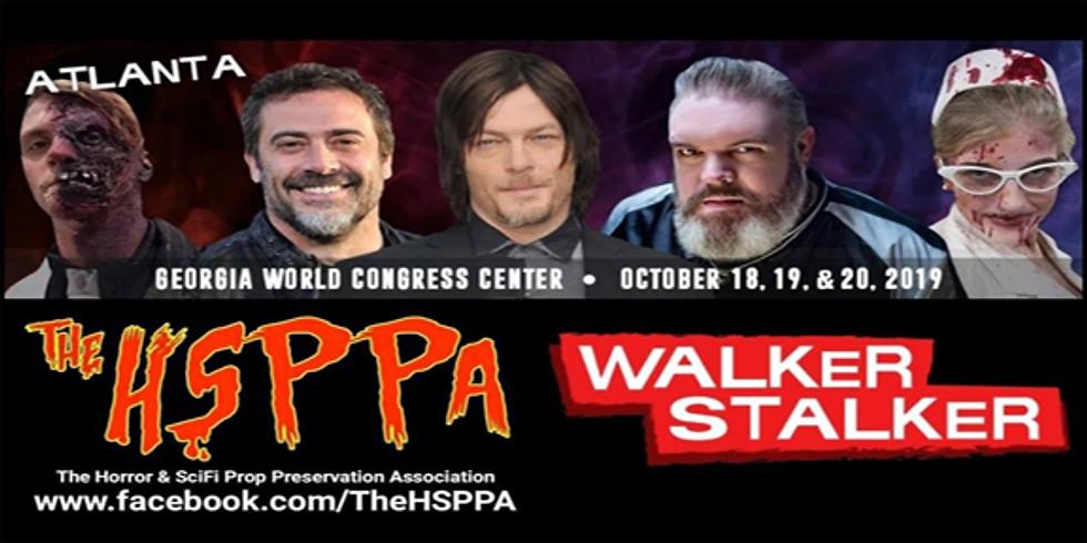 The HSPPA @ Walker Stalker Atlanta 2019