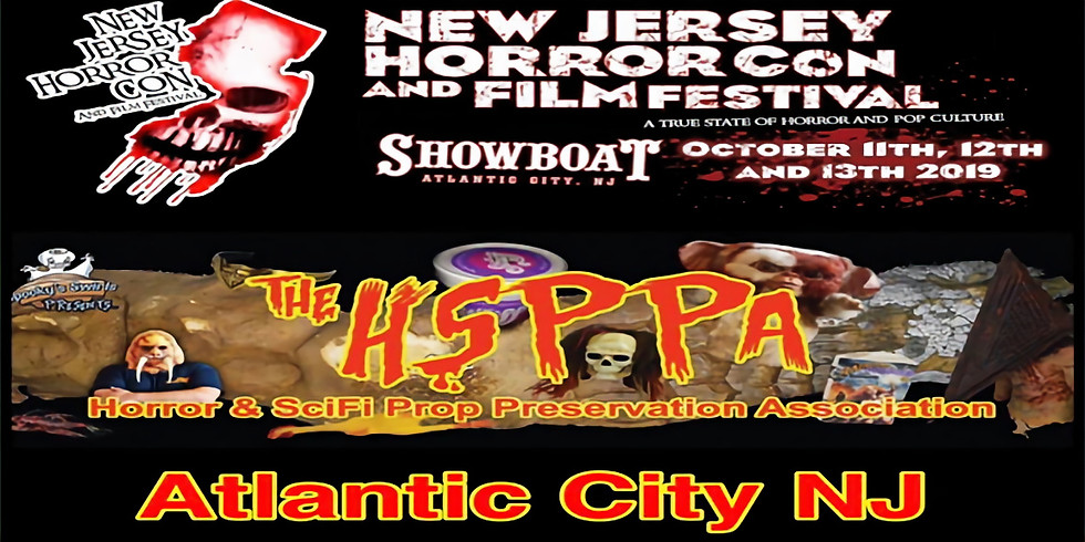 The HSPPA @ New Jersey Horror Con and Film Festival