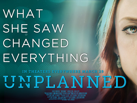 Plan to See Unplanned in Theaters Next Week