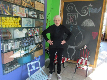 Making a House a Home: A mother's artistic talent enriches her family's life