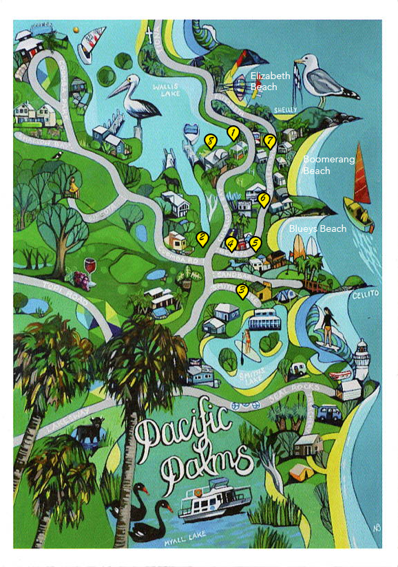 Nicole Bramble Map with markers 1-8.png