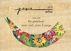 468Flat flowers of Peace