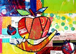 Poms, Apple & Shofar