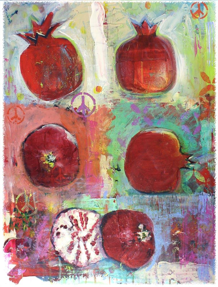 Peace and Pomegranates