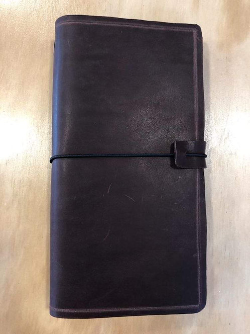 Leather Journal Large Red Wine