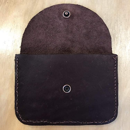 Leather Purse Red Wine