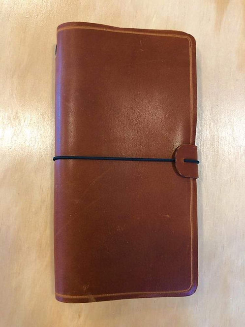 Leather Journal Large Tan Brown