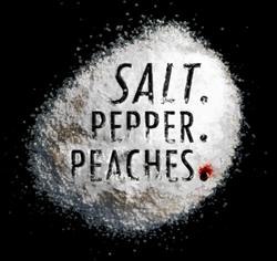 Salt Title on glass with black backgroun