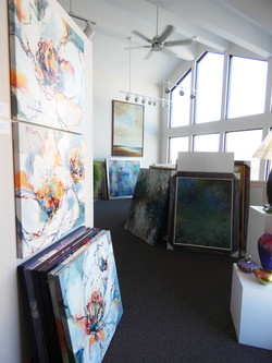 gallery upstairs