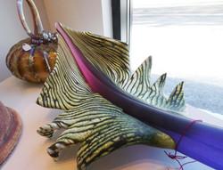 gartner blade -glass leaf