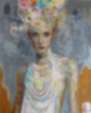 Le Beau Chapeau  canvas 44x54.jpg
