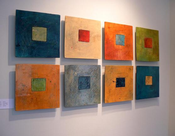Representation of tiles hanging