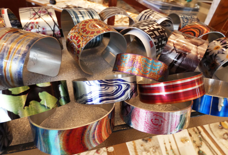 jewelry - alum cuffs