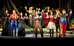 INTO THE WOODS THEATRE DU CHATELET