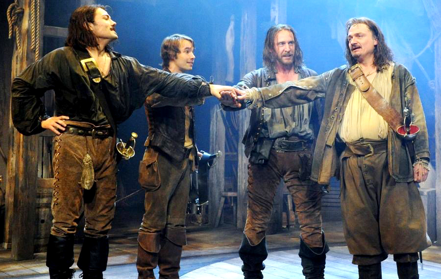 THE THREE MUSKETEERS ROSE THEATRE