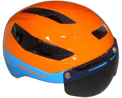 Casco BENOTTOUrbano KS09 Naranja/Azul