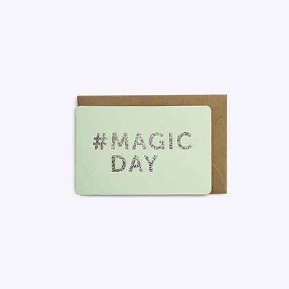 Mini carte Magic day