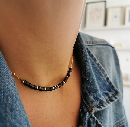 Collier Mawi noir