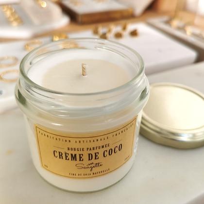 Bougie Crème de coco