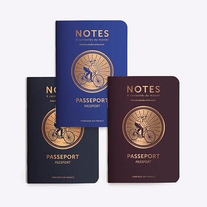 Petit carnet Passeport
