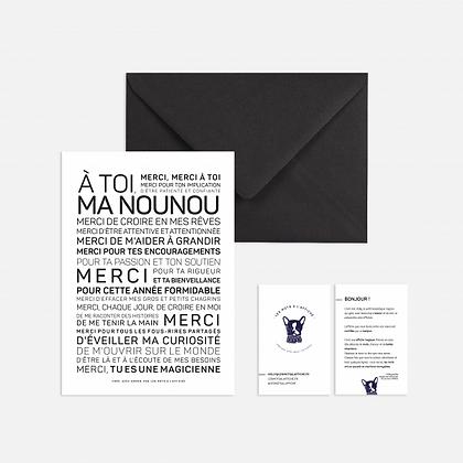 Carte Nounou