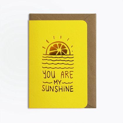 Carte Sunshine