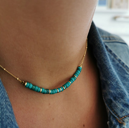 Collier Mawi turquoise