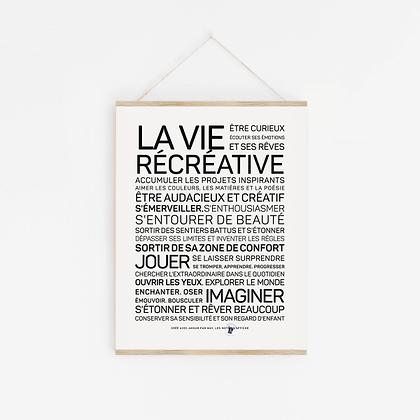 Affiche La Vie Récréative