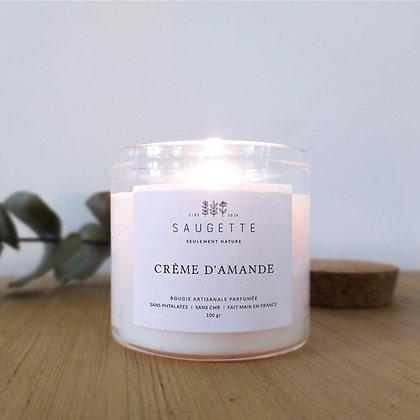 Bougie Crème d'amande