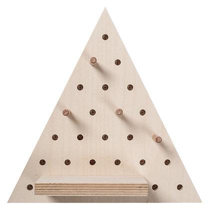 Pegboard triangle