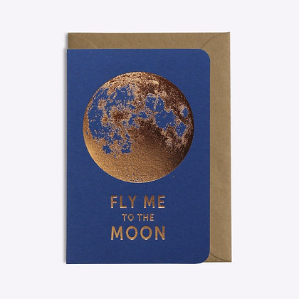 Carte Fly me to the moon