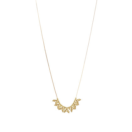 Collier long Vanille