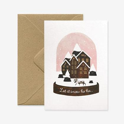 Carte Let it Snow
